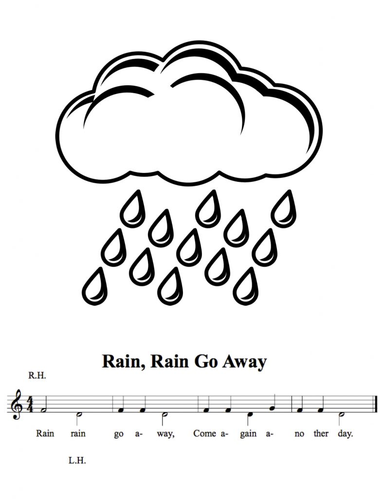 Piano lesson plans for beginners - image 6RainRain_NEW-copy-791x1024 on https://musicmasterlab.com