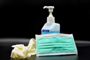 hand disinfection, disinfection, mouth guard