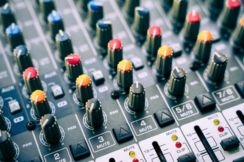 mixer, dj, controller