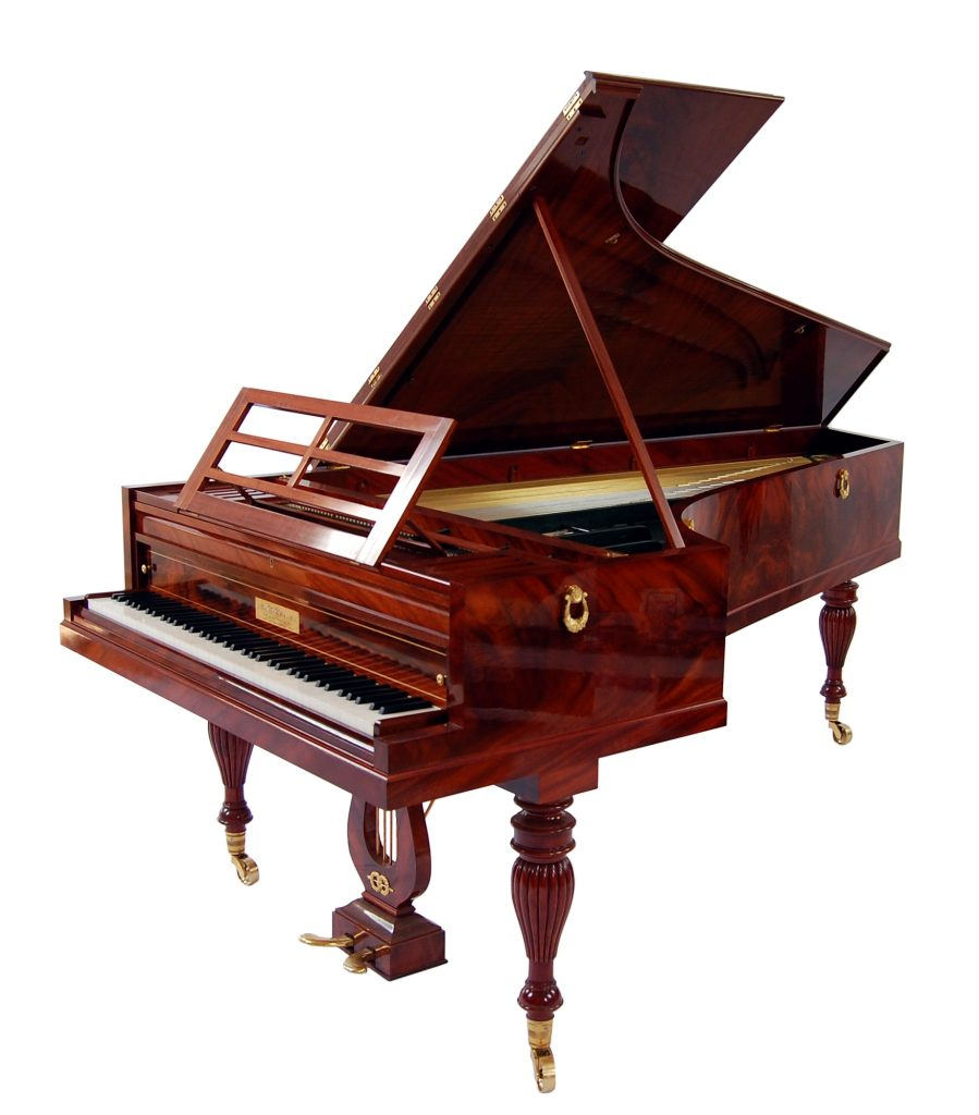 Historic Pianos of the Great Composers - image Pleyel-by-P.McNulty_1830-899x1024 on https://musicmasterlab.com