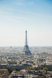 eiffel tower, paris, cityscape