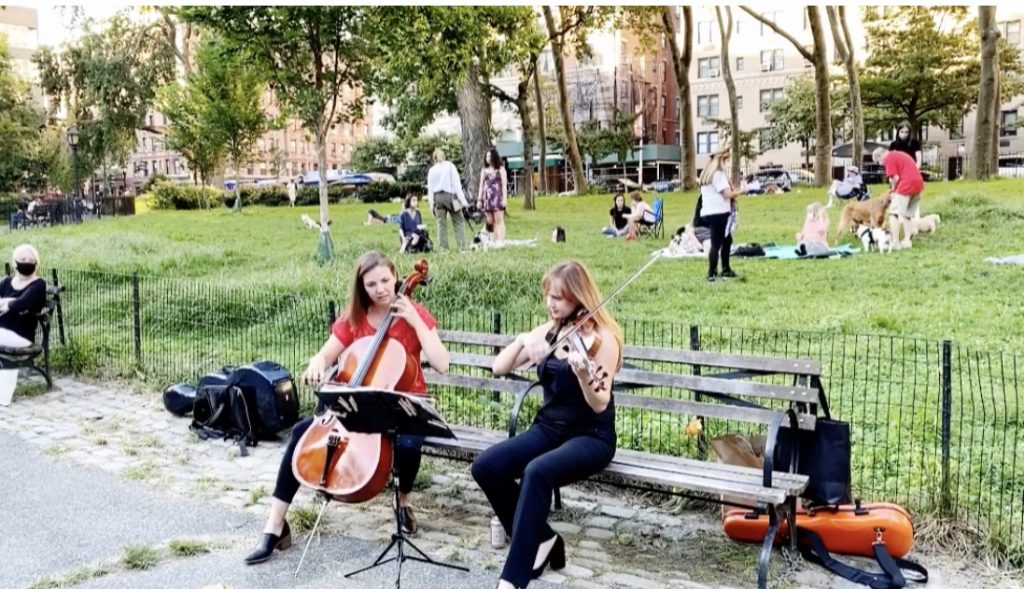 Surviving as a freelance musicians in New York City during COVID19 - image un-In-The-Park-1024x589 on https://musicmasterlab.com